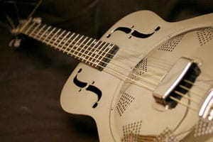 How does a resonator guitar work?