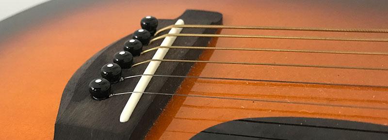 acoustic guitar saddle
