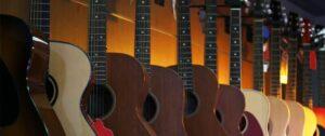 Short scale acoustic guitars