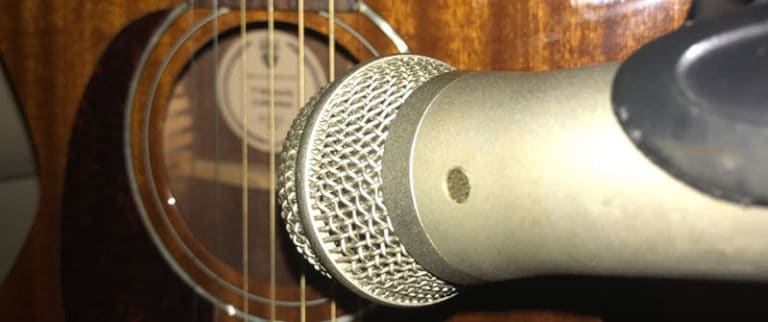 How to Choose the Best Microphone for Acoustic Guitar Recording