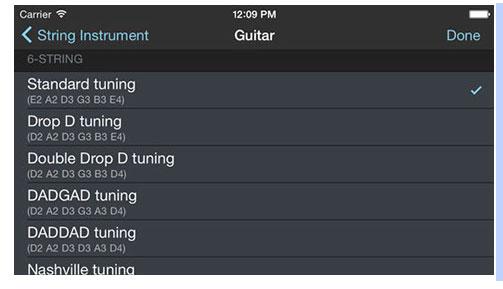 Alternate Tunings App
