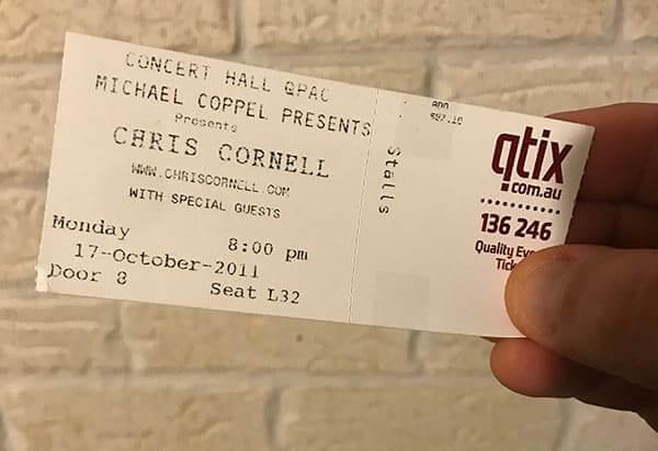 Chris Cornell - Acoustic