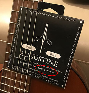 Low Tension Nylon Guitar Strings