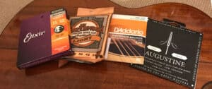 The difference between electric and acoustic guitar strings