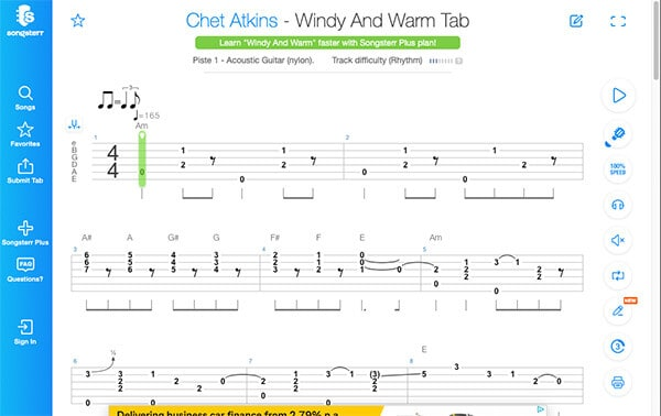 Learn how to read Guitar Tab with Songsterr - Interactive Guitar Tab