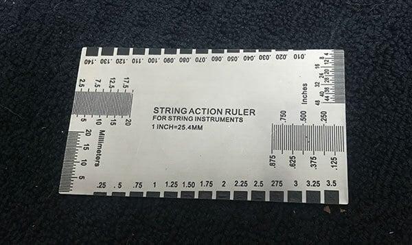 String Action Ruler